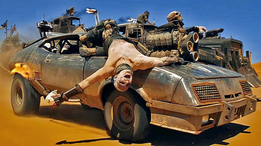 Záber na auto z filmu.