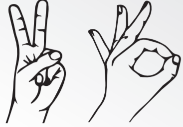 Cvičenie s prstami.