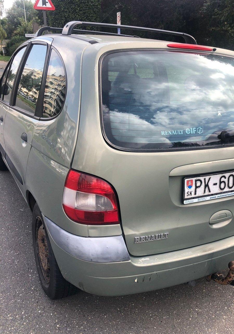 Auto, na ktorom mal Tuči odísť.