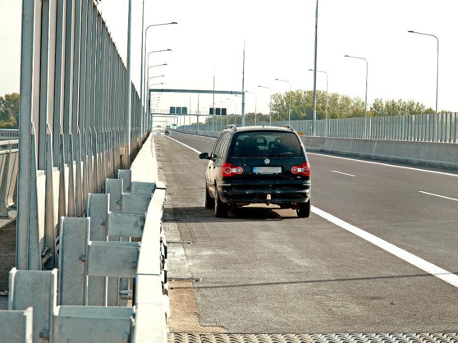 Časť obchvatu, ktorá sa otvorila v nedeľu, zahŕňa aj Lužný most.