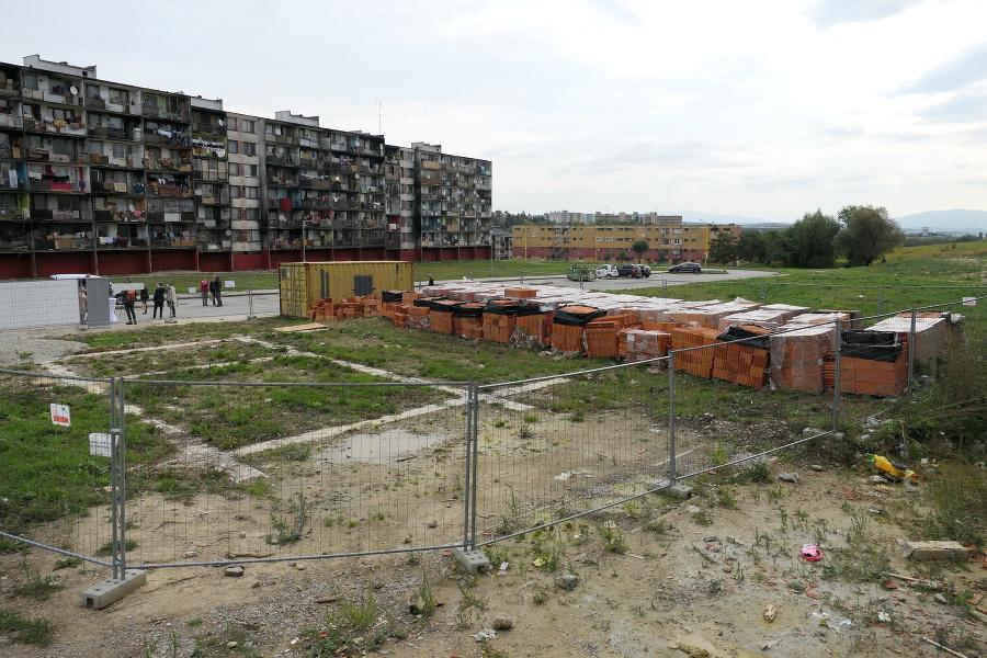 Prvá stavba bude väčšia než ostatné domy.