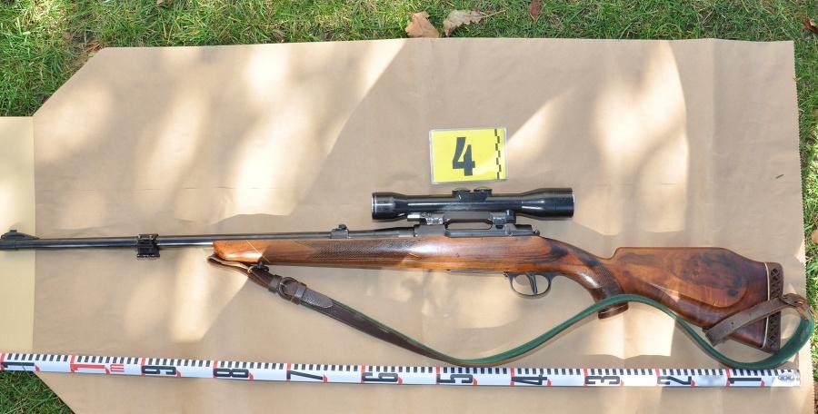 Zbraň bola zaslaná na expertízne skúmanie.
