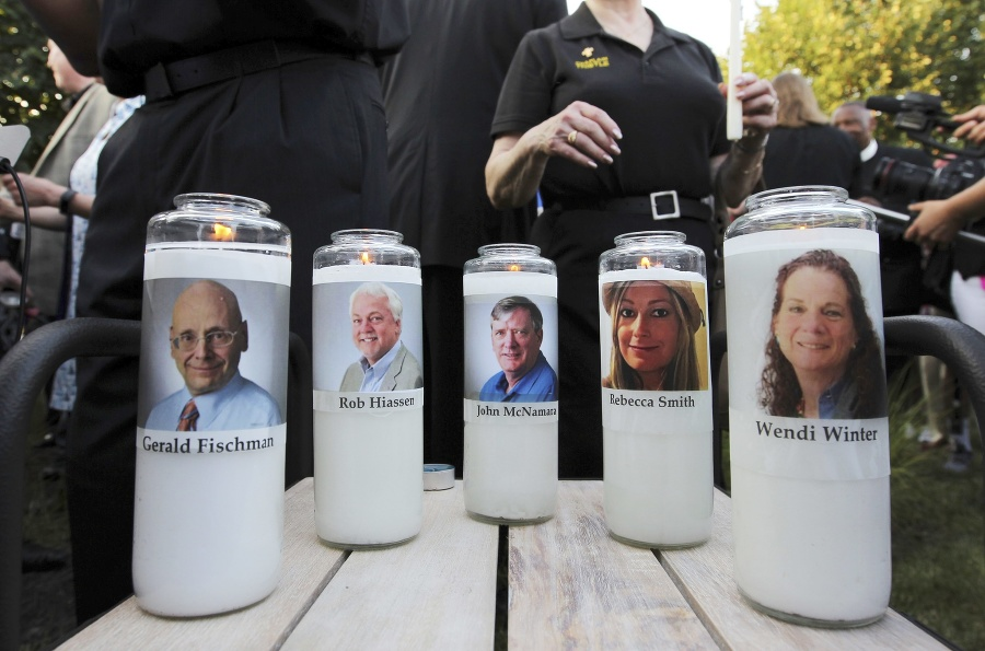 Súdna porota už v júli uznala Ramosa za vinného z vraždy Wendi Wintersovej, Johna McNamaru, Geralda Fischmana, Roba Hiaasena a Rebeccy Smithovej.