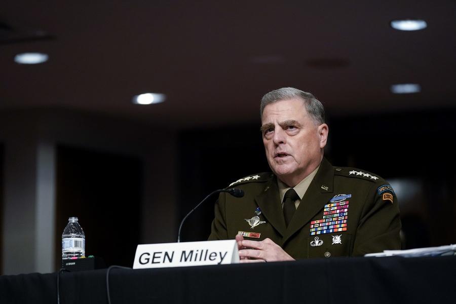 Vysokopostavený americký armádny generál Mark Milley.