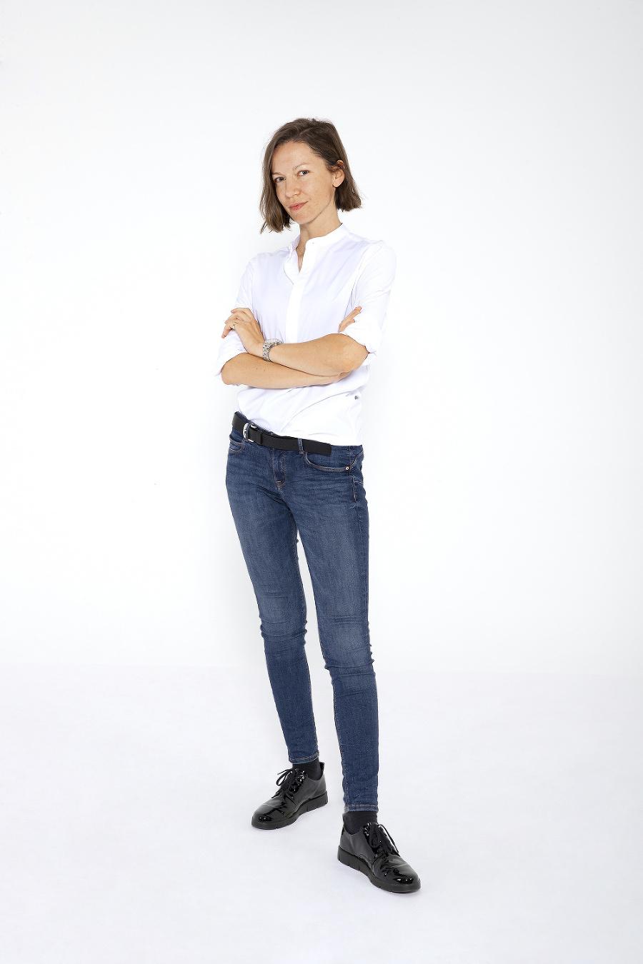 Speváčka Zuzana Smatanová bez mejkapu.