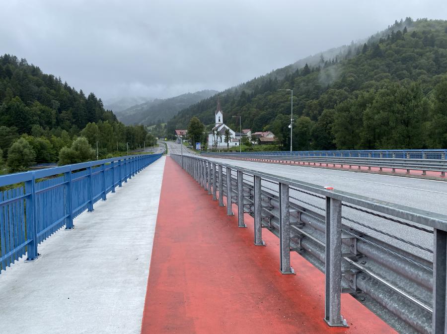 Nový most medzi krajinami.