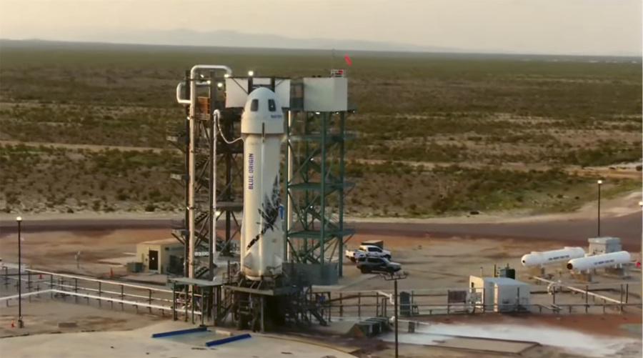 Raketa New Shepard od