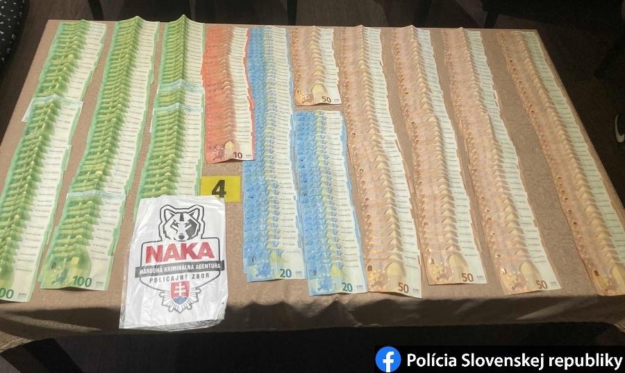 Polícia zaistila 81-tisíc eur