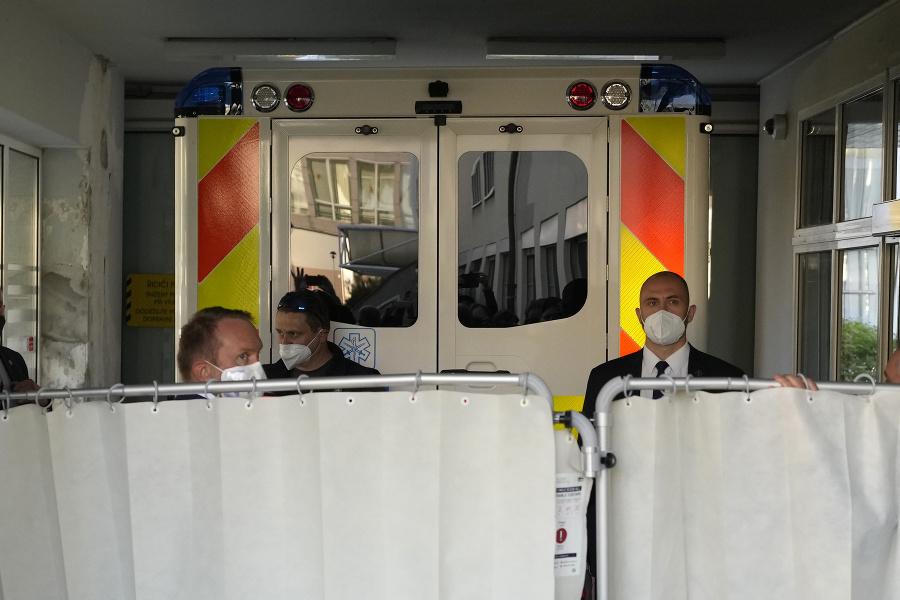 Prezidenta Miloša Zemana hospitalizovali