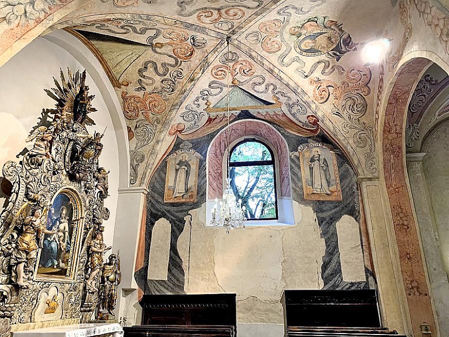Fresky objavili v Kostole