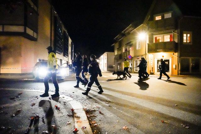 Polícia na mieste činu