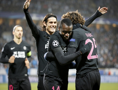 Hráči Paris Saint-Germain sprava