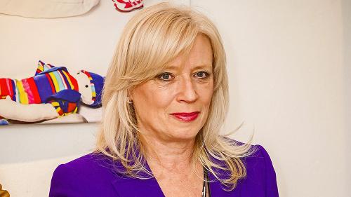 Iveta Radičová, bývalá premiérka.