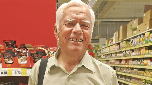 Attila Erös (68), dôchodca,
