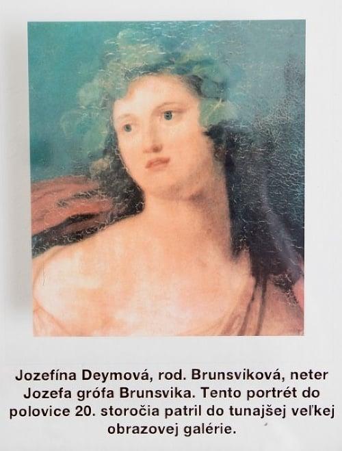 Jozefína Deym, rod. Brunsviková: