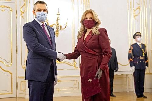Zuzana Čaputová a Peter