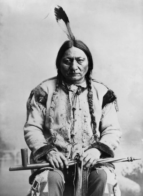 Preslávený náčelník indiánskeho kmeňa