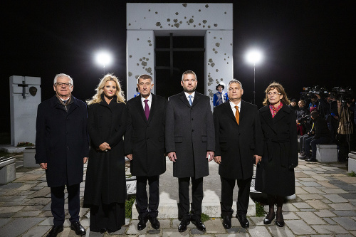 Zľava: poľský minister zahraničných