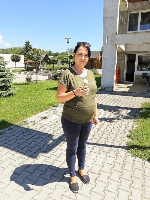 Dominika (28), materská dovolenka