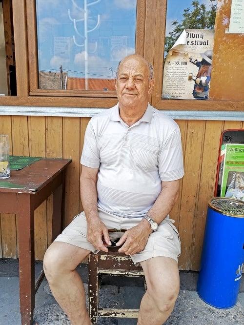 Ervín (67), dôchodca