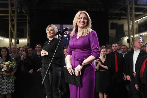 Zuzana Čaputová vyhrala voľby.