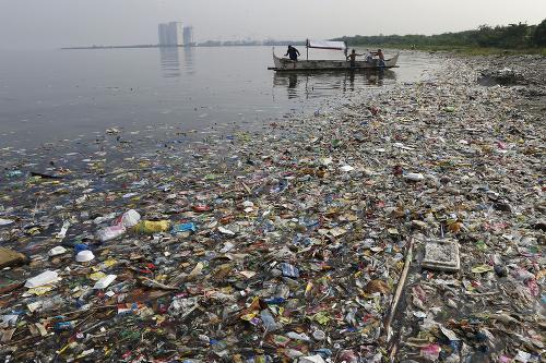 Kvantum plastu v oceáne