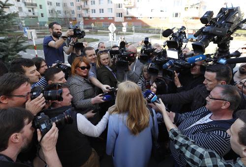 Zuzana Čaputová vzbudila záujem