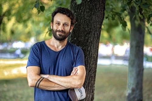 Róbert Jakab (42), herec