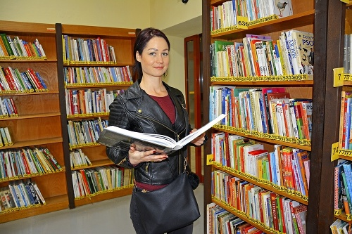 Martina (27) rada číta