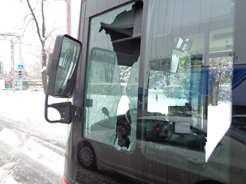 Autobus v Bratislave mala