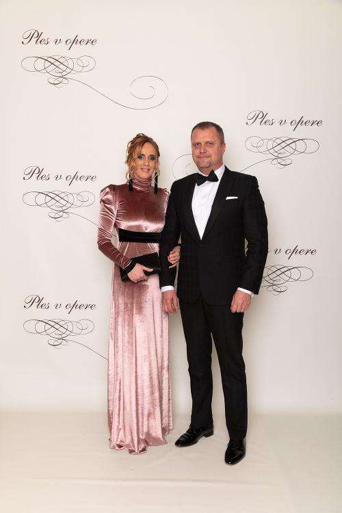 Andrej Hrnčiar s manželkou