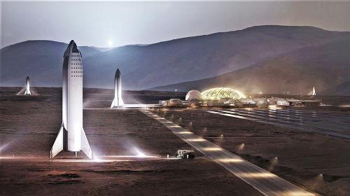 Muskova vízia pre Mars.