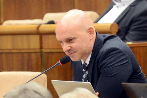 Poslanec Branislav Gröhling (SaS)