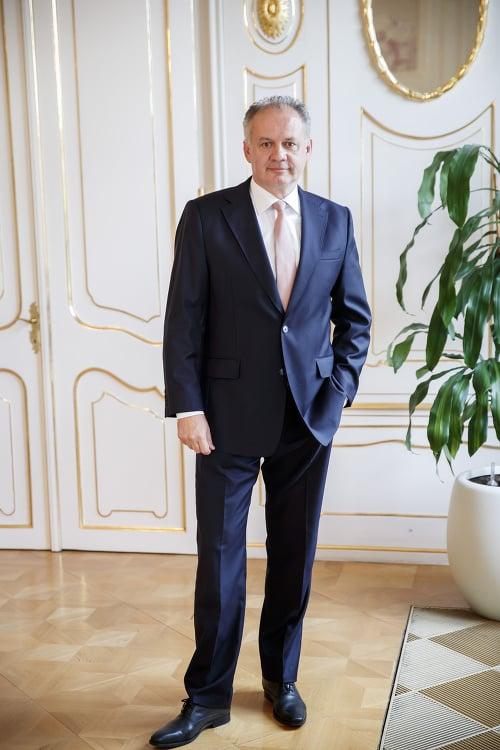 Andrej Kiska (55).