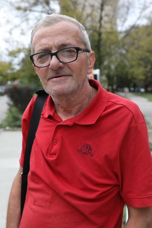 Jozef (64), dôchodca