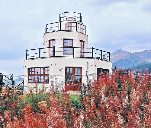 Zrekonštruovaná vyhliadka Monte Móry.