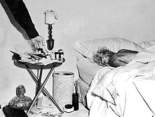 MIESTO ČINU: Marilyn našli