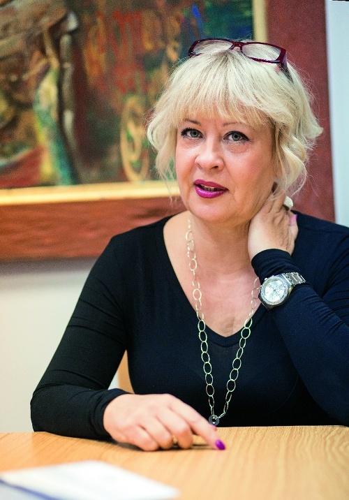 Sociologička Silvia Porubänová.