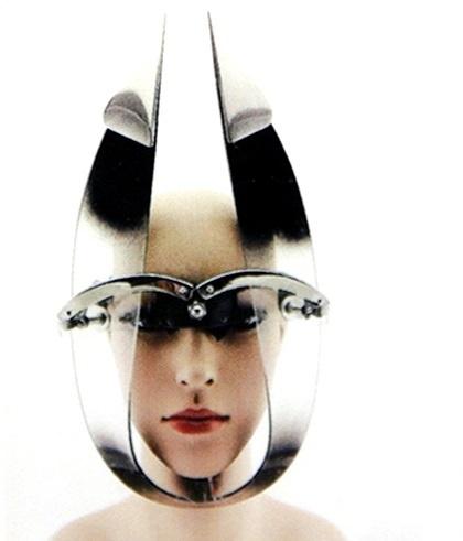 Moderná maska Lady Gaga:
