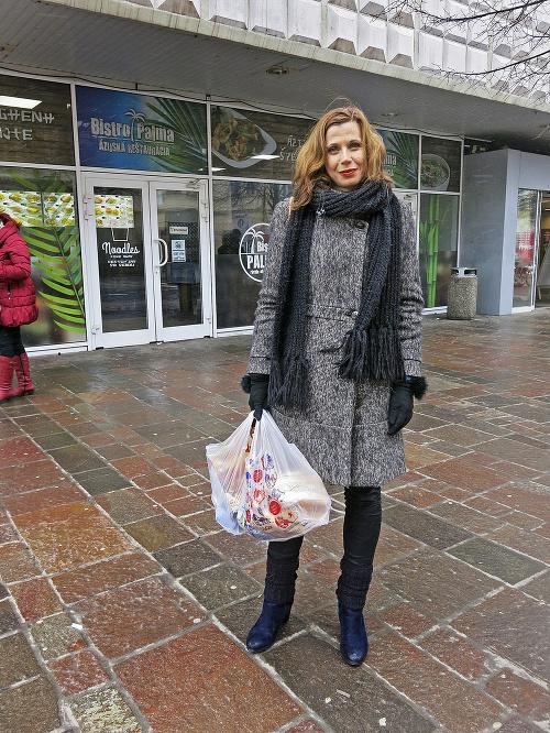 Jana Hvizdáková (35), živnostníčka,