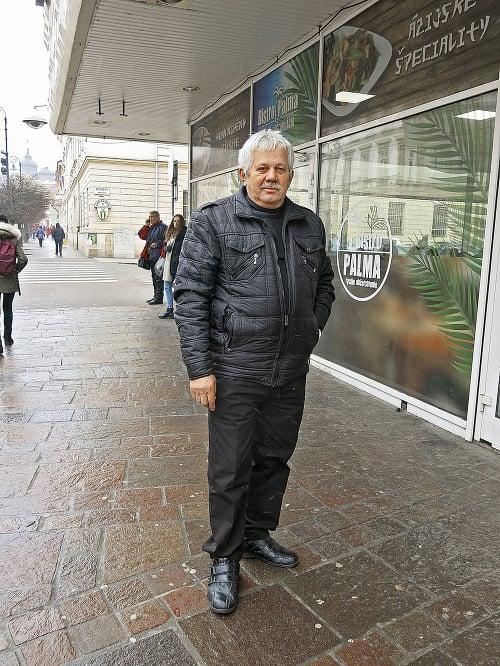 Ladislav Hužvár (65), dôchodca,