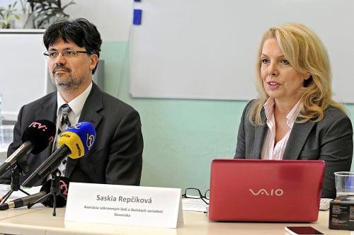 Saskia Repčíková, prezidentka Asociácie