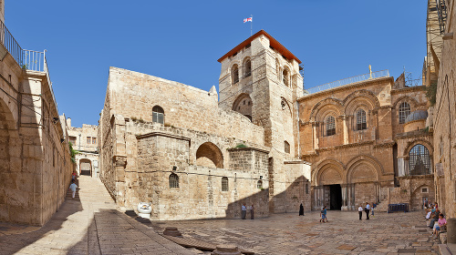 Bazilika svätého hrobu.