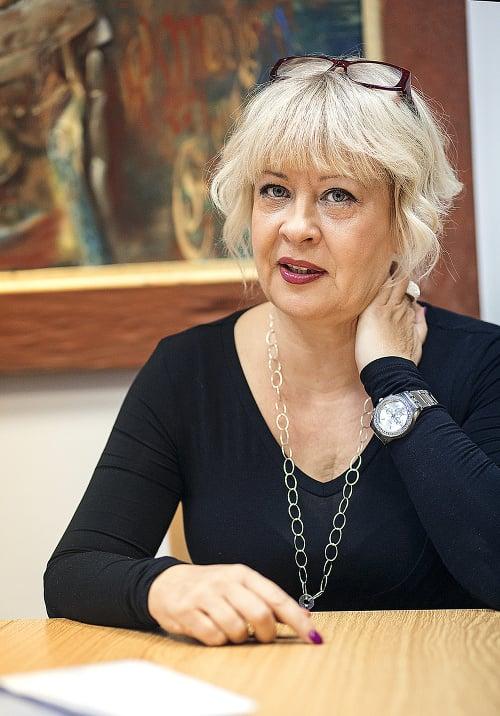 Silvia Porubänová, sociologička.