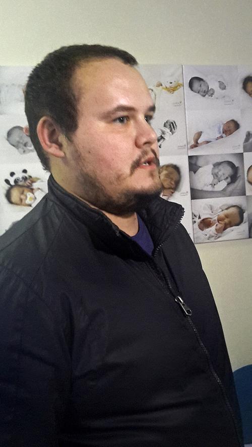 Otecko Martin Greguš (29),
