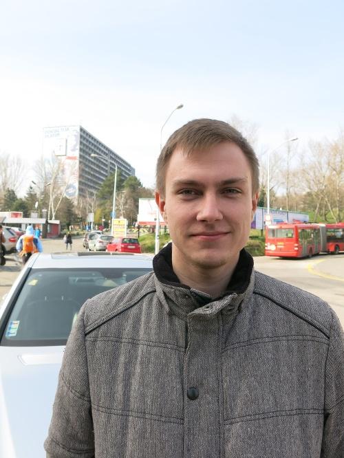Martin (20), študent psychológie.