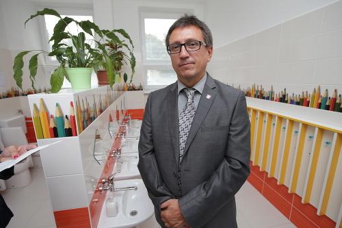 Starosta Ružinova Dušan Pekár.