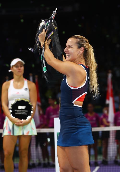 Cibulková vyhrala Turnaj majsteriek