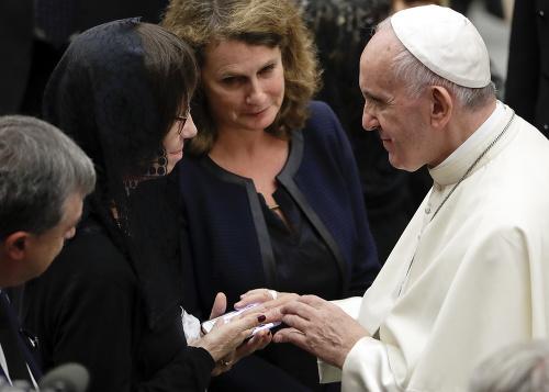 Pápež sa stretol s