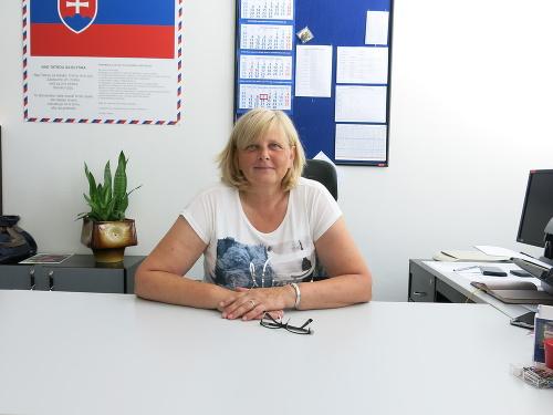 Riaditeľka Obchodnej akadémie Kukučínova